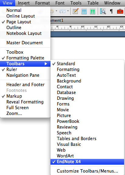 EndNote Installation Instructions - on MAC 1 - Library Wiki - Confluence